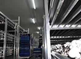 Oświetlenie hal produkcyjnych